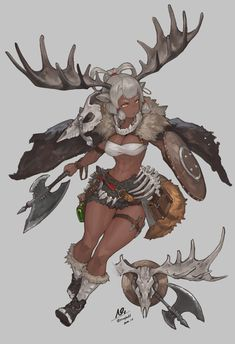 Female Character Design, Character Design References, Character Design Inspiration, Character Concept, Character Art, Black Anime Characters, Dnd Characters, Fantasy Characters, Female Monster