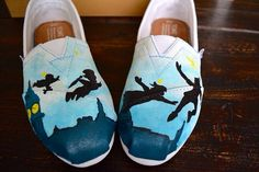 Hand Painted Custom Toms