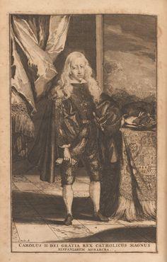 Carolus II Dei Gratia Rex Catholicus Magnus Hispaniarum Monarcha.