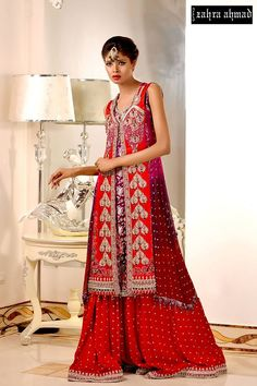 New Stylish Bridal Dress Collection 2015  http://clothingpk.blogspot.com/2015/05/stylish-bridal-dress-collection-2015-by-zahra-ahmad.html