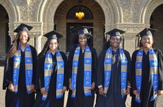 Twitter / SGRhoUpdates: There's no feeling like reaching the finish line...Congrats to the Xi Delta Chapter graduates Stanford University