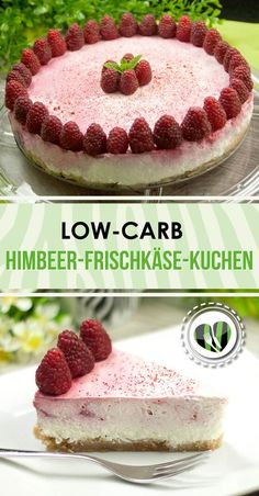 Der Himbeer-Frischkäse-Kuchen ist ein leckerer No-Bake-Cake. Er schmeckt einfach fantastisch frisch und ist zudem noch low-carb.