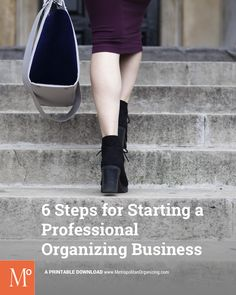 Geralin Thomas shares all her tips in the 6 Steps for Starting a Professional Organizing Business. Professional Organizer Training.