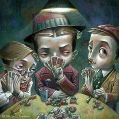 les-tricheurs-de-poker. - Jeremy Moncheaux