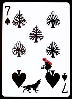 """The Seven of Spades"" by Emmanuel Jose. 7 of spades is the equivalent of 7 of swords"