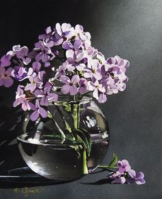 """Wildflower Series: Still Life with Phlox"" by Jacqueline Gnott"