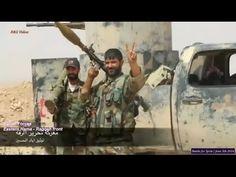 Guerra na Síria - Batalha do Exército Sírio contra o ISIS em Raqqah