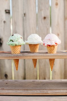 DIY wood ice cream c