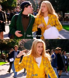 Clueless (1995) - Movie Quotes #moviequotes #clueless1995 watch this movie free…