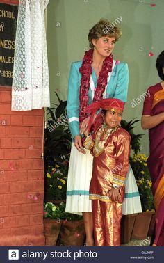 Princess Diana In India Stock Photo, Royalty Free Image: 108591491 - Alamy