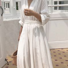 Linen summer wrap dress - Kimono linen dress - summer linen dress - romantic linen wrap dress - plus size dress - Kimono linen dress - Cheap Dresses, Casual Dresses For Women, Summer Dresses, Clothes For Women, Elegant Dresses, Sexy Dresses, Pretty Dresses, Formal Dresses, Wedding Dresses