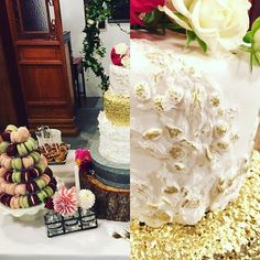 cool vancouver wedding Wedding cake and dessert table made for a wonderful couple. Gold and texture . #weddingcake #markedwedding by @ediblemark  #vancouverwedding #vancouverweddingcake #vancouverwedding