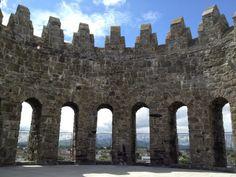On the Roof of Nenagh Castle - Photo by Corey Taratuta