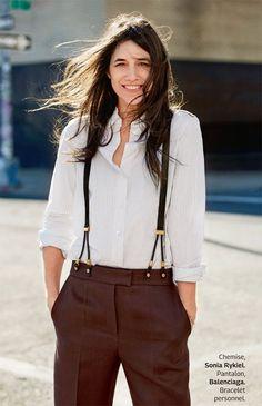 Charlotte Gainsbourg for Grazia France by Jason Kim