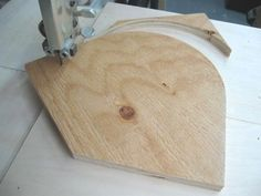 Band Saw Circle Cutting Jig #1 Gabarit Coupe Cercle Pour Scie à Ruban