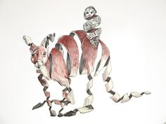 Surreal Unravelling Animal Illustrations by Jaume Montserrat