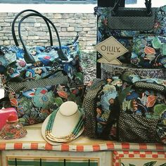 Our new #Olily is calling your name! Come in and pick out your perfect bag and wallet today! Call us at 904-473-7401 if you would like us to hold anything. #danzar #danzarcorp #accessories #oililyworld #newpatterns #newbags #purses #duffles #wallets #clutchs #backpacks #makeupbags