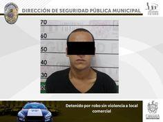 Lo detienen por robo a local comercial en la colonia Santa Rosa | El Puntero
