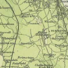 Environs of Liverpool – Royal Atlas of England and Wales (1898) | Historic Liverpool