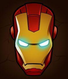 iron man face mask template.html