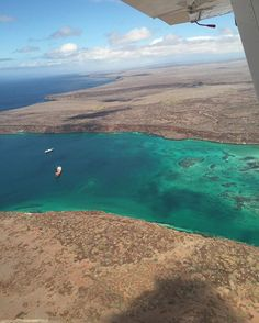 Flying from Baltra to Isabela, a feast to the eyes. #Galapagos #galapagosislands #galapagossafaricamp #safari #travel #flying #discover #experience #explore #luxury #outofthisworld #beautifuldestinations