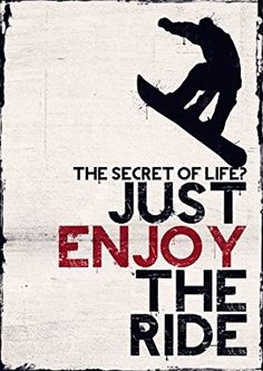 Snowboarding Poster, Snowboarder Poster, inch x inch, Skating… Apres Ski Outfit, Rugby Feminin, Snowboarding Quotes, Enjoy The Ride, Ski And Snowboard, Snowboard Bedroom, Winter Fun, Secret Life, Hairstyle