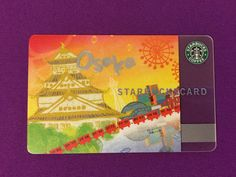 Japan card Starbucks, Japan, Cards, Okinawa Japan, Maps, Playing Cards