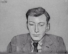 Lucian Freud - Self Portrait, June 1945
