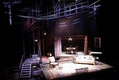 The Glass Menagerie. Cincinnati Playhouse. Scenic design by Paul Shortt.