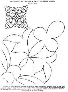 Vintage Hand Quilting Patterns – Q is for Quilter Quilting Stencils, Quilting Templates, Quilting Tutorials, Machine Quilting Patterns, Star Quilt Patterns, Zentangle, Vintage Quilts Patterns, Whole Cloth Quilts, Quilt Stitching