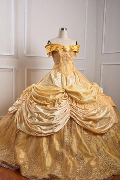 Sparkly Belle Costume - Beauty and the Beast - Disney Princess costume Costume take 3 weeks for done and days for delivery For the measurement please check picture above . if have any question then just please contact me . Costume Princesse Disney, Princess Belle Costume, Disney Princess Costumes, Disney Princess Dresses, Disney Dresses, Disney Costumes, Disney Belle Costume, Belle Cosplay, Belle Blue Dress Costume