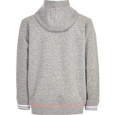 Boys RI Active grey sports hoodie - hoodies / sweatshirts - sale - boys