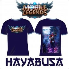 Kaos Mobile Legend Distro Custom Apparel