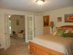First floor master bedroom with separate office/sitting room..the perfect retreat!