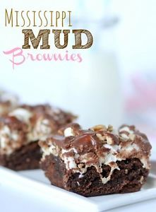 I always have a few boxes of brownie mix on hand. As much as I love homemade brownies, a mix is great for a quick dessert! They are also the easiest mixes to doctor -- you can add toppings, fillings, cook...