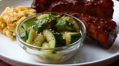 Smashed Cucumber Salad Recipe - How to Make the World's Most Addictive C...
