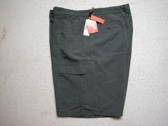 Tommy Bahama Men's Size 38 Zip Fly Relax Key Grip Cargo Shorts - Fog Gray #TommyBahama #Cargo