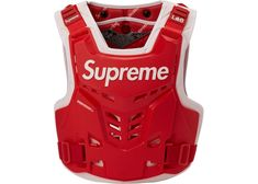 Buy and sell authentic Supreme streetwear on StockX including the Supreme Fox Racing Proframe Roost Deflector Vest Red from Fox Racing, Vest Outfits, Baby Boy Outfits, Avatar Babies, Dirt Bike Gear, Motocross Helmets, Supreme Iphone Wallpaper, Hypebeast Outfit, Off White Clothing