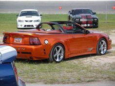 hot-orange-saleen Modern Muscle Cars, Mustang Cobra, Ford Mustangs, American Sports, Sally, Sick, Garage, Trucks, Hot