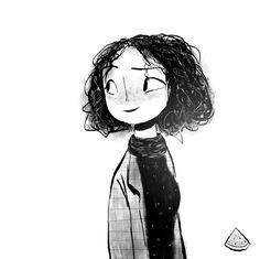 Illustration Story, Ink Illustrations, 30 Day Drawing Challenge, Different Forms Of Art, Tumblr Art, Pretty Art, Art Sketchbook, Anime Art Girl, Doodle Art