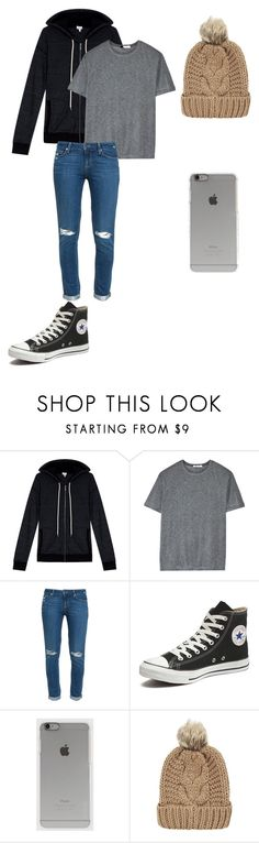 """""""Simple."""" by kathrynclifford on Polyvore featuring Splendid, T By Alexander Wang, Paige Denim, Converse, Incase and Chicnova Fashion"""
