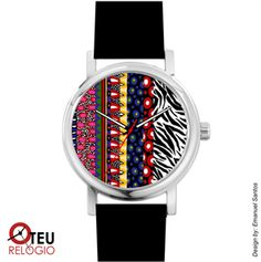 Mostrar detalhes para Relógio de pulso OTR PADRÃO PAD 0029
