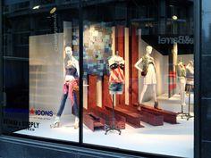 """""""AMERICAN ICONS"""", Macy's NYC, pinned by Ton van der Veer"""