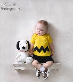 Charlie Brown T-Shirt with Chevron Style Zig Zag Printed by OVELO