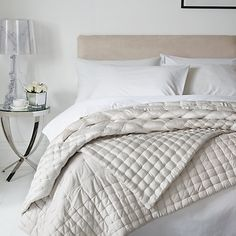 Buy Natural John Lewis & Partners Boutique Hotel Silk Bedspread from our Throws, Blankets & Bedspreads range at John Lewis & Partners. Free Delivery on orders over Boutique Hotel Bedroom, Best Boutique Hotels, Olives, John Lewis, Hotel Room Design, Natural Bedding, Mirrored Furniture, Hotel Interiors, Bed Throws