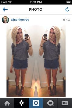 Alison Henry hair I wanted this.