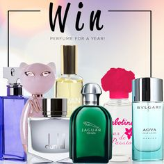 Help me win perfume for a year with myperfumeshop.co.za!