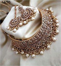 Antique Jewellery Designs, Fancy Jewellery, Stylish Jewelry, Fashion Jewelry, Fine Jewelry, Silver Jewelry, Indian Jewellery Online, India Jewelry, Jewelry Making