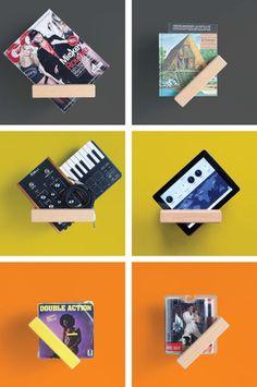 360 Shelf is an adjustable, multi-use shelf by Luka Pirnat