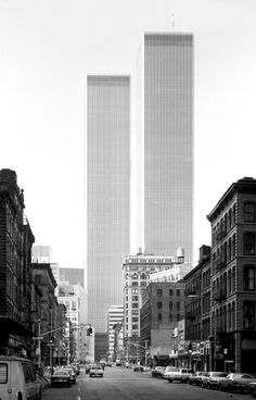 World Trade Center, Minoru Yamasaki, New York, 1971 — Balthazar Korab